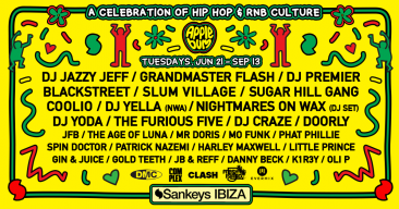 Hip Hop lands in Ibiza with Applebum – line up is in!