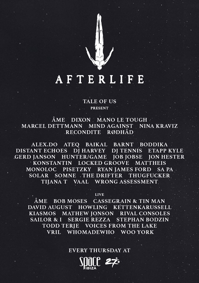 Afterlife Ibiza 2016 tickets