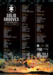SolidGrooves Line up 2016