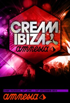 CREAM IBIZA 20TH BIRTHDAY PARTY - STANDARD TICKET
