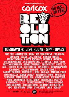 CARL COX - MUSIC IS REVOLUTION