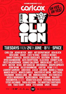 CARL COX - MUSIC IS REVOLUTION CLOSING PARTY