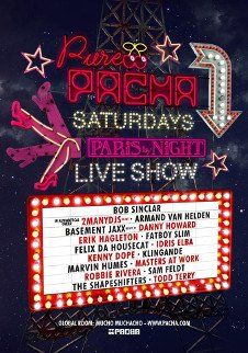 PURE PACHA OPENING PARTY - PARIS BY NIGHT