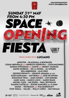 SPACE OPENING FIESTA