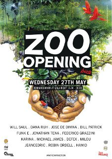 ZOO VENUE (BENIMUSSA PARK) OPENING PARTY