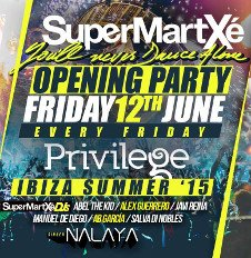 SUPERMARTXE OPENING PARTY