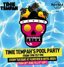 TINIE TEMPAH'S POOL PARTY: DISTURBING IBIZA CLOSING PARTY