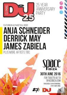 DJ MAG - 25 YEAR ANNIVERSARY PARTY