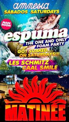 ESPUMA FOAM OPENING PARTY / MATINEE