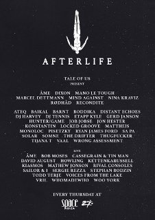 AFTERLIFE OPENING PARTY