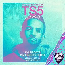 CRAIG DAVID'S TS5 POOL PARTY OPENING
