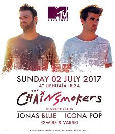 MTV PRESENTS THE CHAINSMOKERS