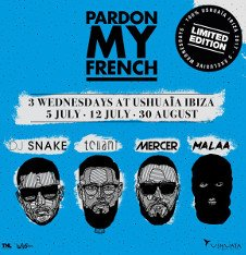 LIMITED EDITION - PARDON MY FRENCH