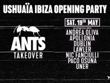 USHUAIA OPENING PARTY - ANTS TAKEOVER #1