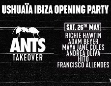 USHUAIA OPENING PARTY - ANTS TAKEOVER #2