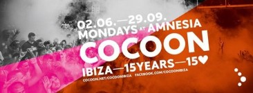 Cocoon, Amnesia – full line up Ibiza 2014