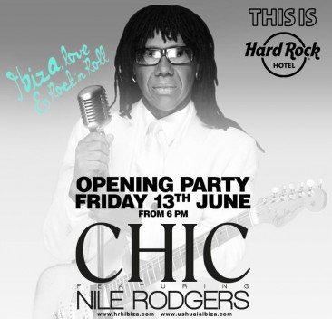 Review: Nile Rogers at This is Hard Rock Ibiza