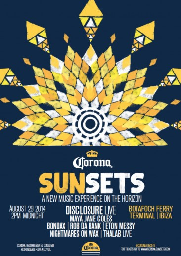 CORONA SUNSETS HEADS TO THE WHITE ISLE