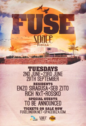 FUSE finds a new home in Space Ibiza this summer