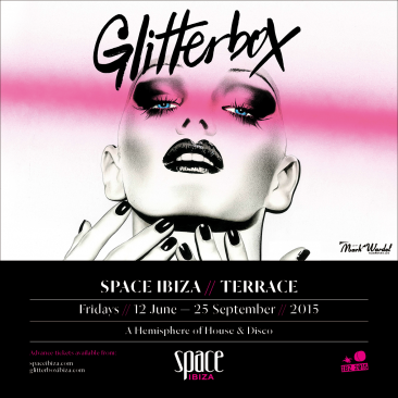 Glitterbox host the iconic Space Terraza this summer for 16 weeks!