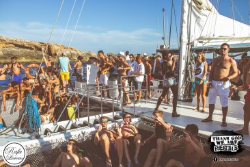 We set sail with the Rebels! Review: Rebels Boat Party Ibiza