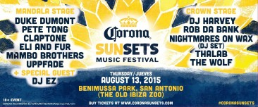 Perfect festival event to hit us mid-season – Corona Sunsets is back!