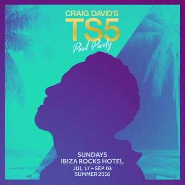 Craig David announces pool party at Ibiza Rocks
