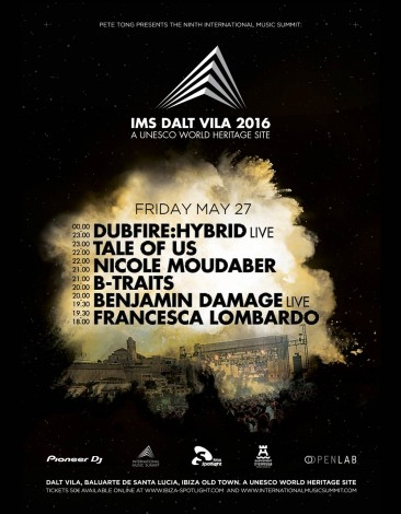 IMS at Dalt Villa featuring Dubfire, Tale Of Us & Nicole Moudaber