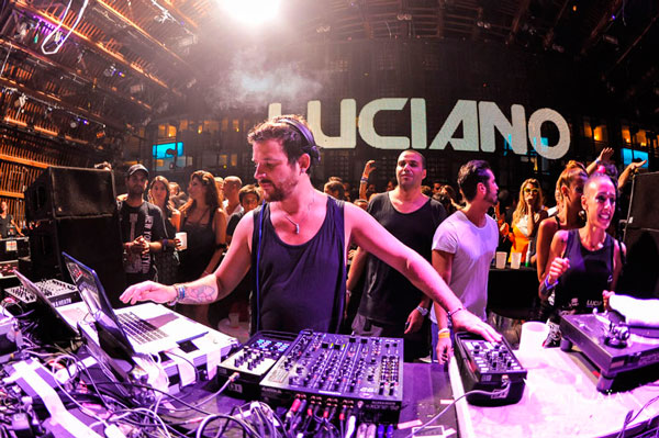 Luciano will join Insane at Pacha for 7 dates