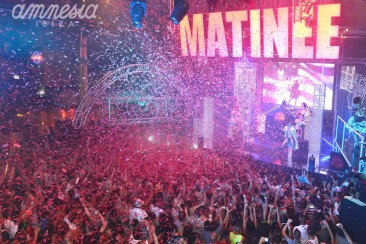 Matinée is back at Amnesia every Saturday!