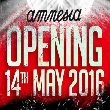 Amnesia Ibiza opening party 14th May!