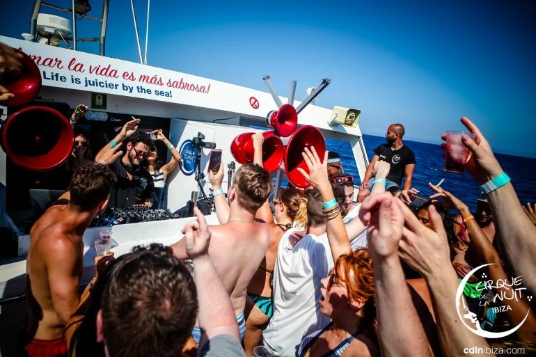 Cirque de la Nuit Ibiza to host 100 boat parties this summer