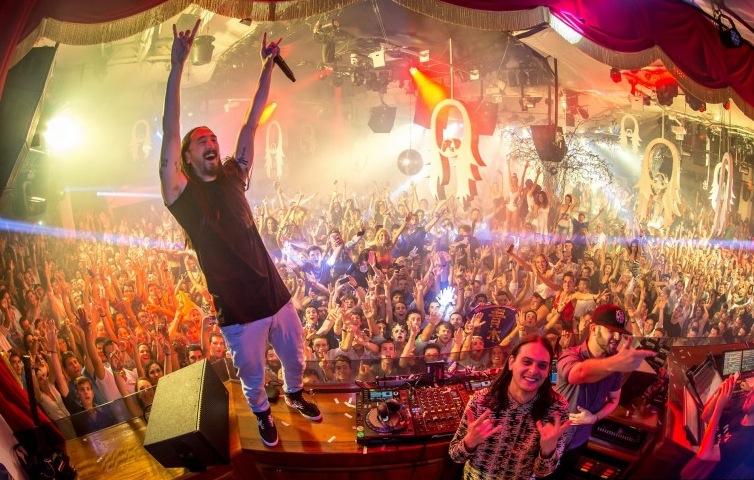 Steve Aoki announces 5 Ibiza dates at Ushuaïa