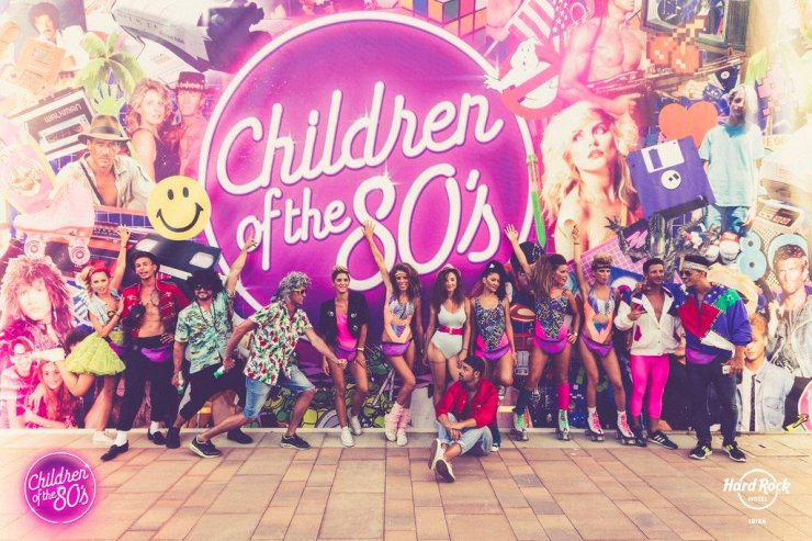 Children of the 80's at Hard Rock Hotel summer line-up