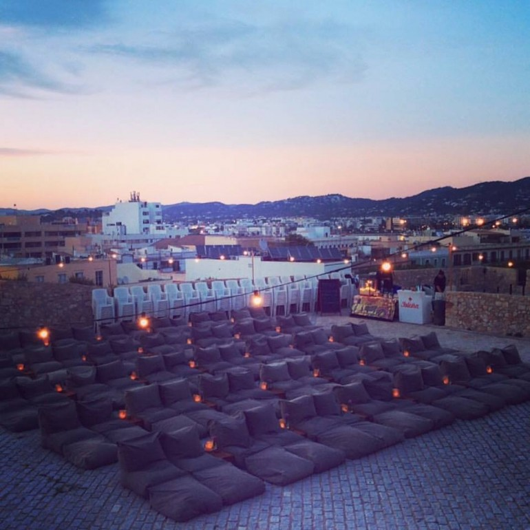 A Cinema in Paradise – Cinema Paradiso under the stars in Ibiza Old Town