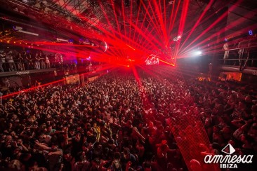 Amnesia closing party – line up and after party action!