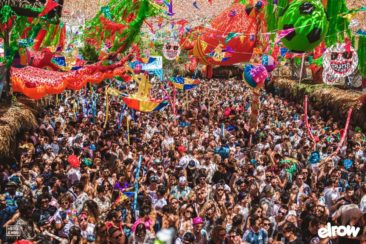 The madness unfolds as Elrow makes Amnesia its new summer home…
