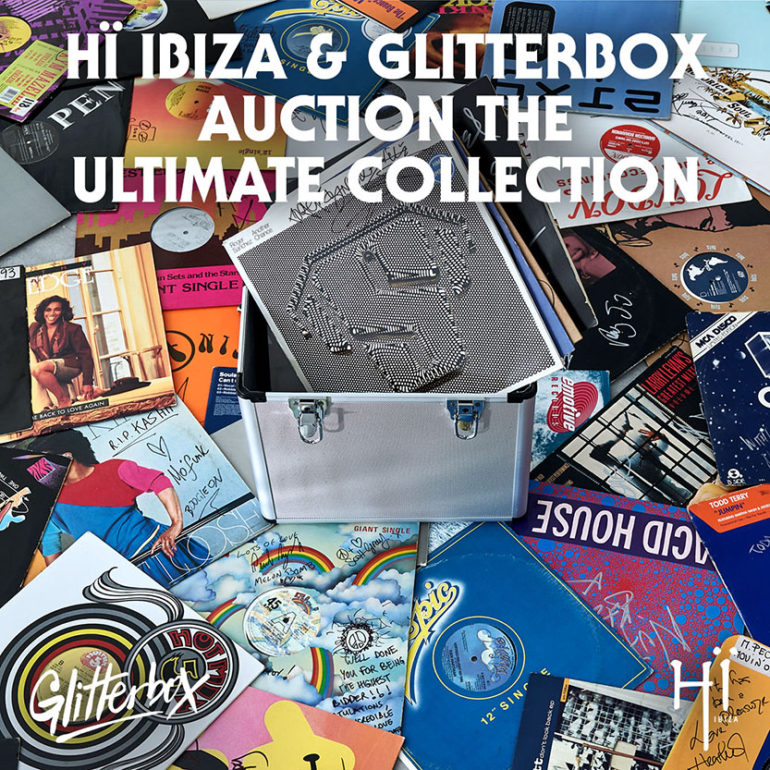 GLITTERBOX ANNOUNCES LAUNCH OF A CHARITY AUCTION 'THE ULTIMATE RECORD COLLECTION'