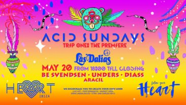 ACID SUNDAYS RETURNS TO LAS DALIAS