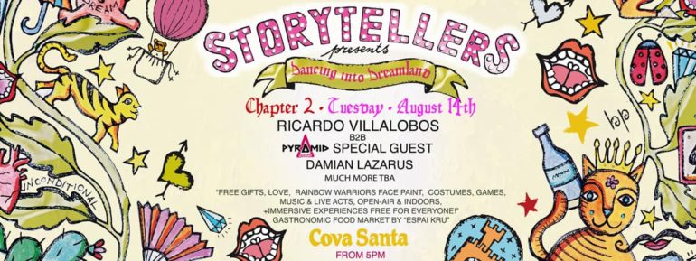 STORYTELLERS: DANCING INTO DREAMLAND CHAPTER II