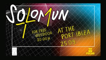 SOLOMUN'S ANNUAL IBIZA PORT PERFORMANCE