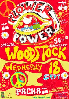 FLOWER POWER - SPECIAL WOODSTOCK 50TH ANNIVERSARY
