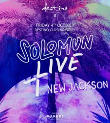DESTINO CLOSING PARTY - SOLOMUN + LIVE