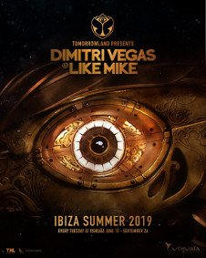 TOMORROWLAND PRESENTS DIMITRI VEGAS & LIKE MIKE - CLOSING PARTY