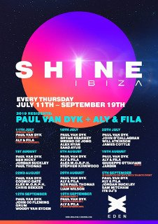 SHINE IBIZA - IBIZA TRANCE EVENT