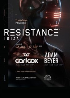 RESISTANCE - CARL COX BIRTHDAY