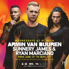 ARMIN VAN BUUREN / SUNNERY JAMES & RYAN MARCIANO CLOSING PARTY