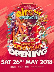 ELROW OPENING PARTY - CHINESE ROW YEAR