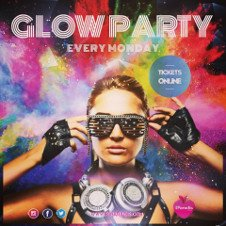 GLOW NEON PAINT CLOSING PARTY