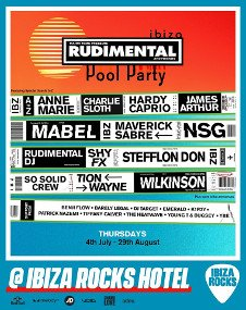 RUDIMENTAL & FRIENDS OPENING POOL PARTY